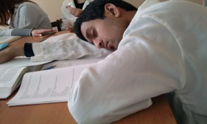 Students know that sleeping well is the basis of your health...